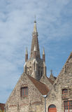 Historical center of Brugge Royalty Free Stock Images