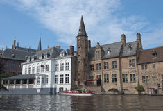 Historical center of Brugge Royalty Free Stock Photography
