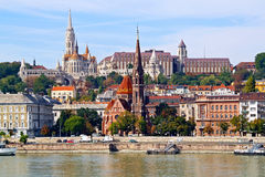 Historical center of Budapest Stock Photo