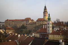 Historical Center of Cesky Krumlov , Czech Republic (Unesco Worl Stock Photography