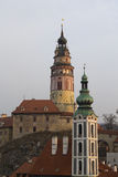 Historical Center of Cesky Krumlov , Czech Republic (Unesco Worl Stock Images