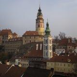 Historical Center of Cesky Krumlov , Czech Republic (Unesco Worl Royalty Free Stock Photography