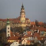 Historical Center of Cesky Krumlov , Czech Republic (Unesco Worl Royalty Free Stock Photo