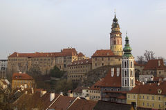 Historical Center of Cesky Krumlov , Czech Republic (Unesco Worl Royalty Free Stock Photos