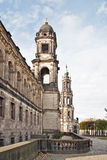 Historical center of city Dresden Royalty Free Stock Photo