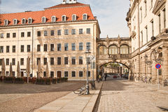 Historical center of city Dresden Royalty Free Stock Photography