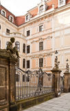 Historical center of city Dresden Stock Photos