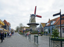 Historical center of the city Sluis Stock Photography