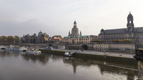 Historical center of Dresden (landmarks), Germany. Stock Photo