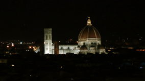 Historical center of Florence stock footage