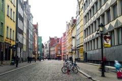 Historical center of Gdansk Stock Photos