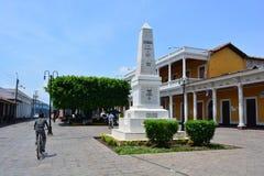 Historical center of Granada, Nicaragua Stock Photos