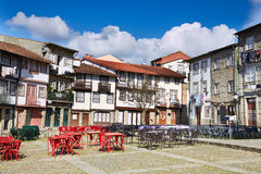 Historical center of Guimaraes. Portugal Royalty Free Stock Image