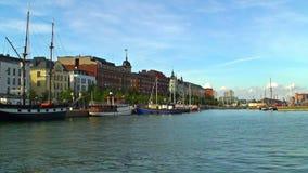 Historical center of Helsinki, Finland stock video