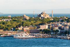 The historical center of Istanbul Stock Photos