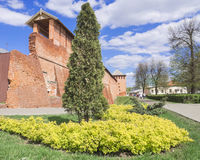 Historical center of Kolomna, Russia Royalty Free Stock Photography