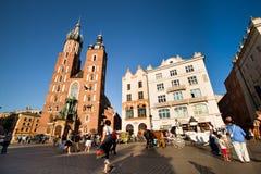 Historical center of Krakow Royalty Free Stock Image