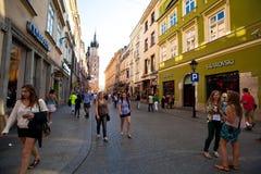 Historical center of Krakow Royalty Free Stock Images