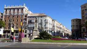 Historical center-Málaga-andalucia-Spain Europe Royalty Free Stock Photo