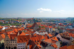 Historical center of Meissen Stock Photos