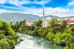 Historical center in Mostar Stock Photos