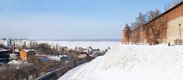 Historical center of Nizhny Novgorod royalty free stock photo