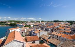 Historical center of Porec Stock Photo