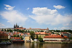 The historical center Prague Stock Image