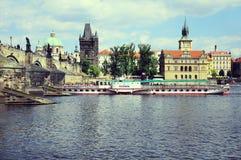 Historical center of Prague Stock Photography