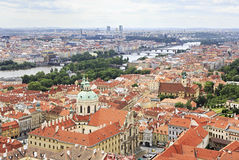 Historical center of Prague Stock Photography