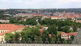 Historical center of Prague Stock Image
