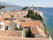 Historical center of Rab island Royalty Free Stock Image