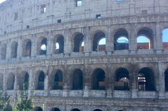 Historical center of Rome Colosseum royalty free stock photo
