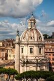 Historical center of Rome Stock Photos