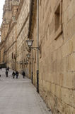 Historical center of Salamanca, Castilla y Leon, Spain. Historical center Salamanca, Castilla y Leon stock photo