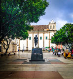 Historical Center of Salvador Royalty Free Stock Images