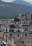Historical center of the Salzburg (Austria) Stock Image