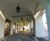 Historical Center  of Sibiu. SIBIU, ROMANIA -  FEBRUAR 4, 2014.Historical Center  of Sibiu Stock Image