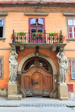 Historical center of Sibiu, Romania Royalty Free Stock Photography