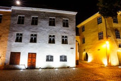 Historical center of Sighisoara Stock Images
