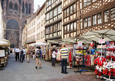historical center of Strasbourg Royalty Free Stock Photos