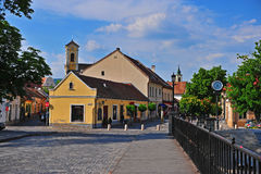Historical center of Szentendre old town Stock Photography