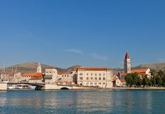 Historical center of Trogir, Croatia. UNESCO site Stock Images