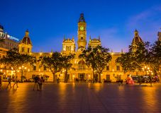 The historical center of the Valencia city, Spain. The historical center of the Valencia city Royalty Free Stock Images