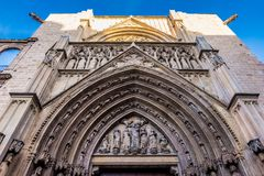The historical center of the Valencia city, Spain. The historical center of the Valencia city Stock Images