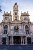 The historical center of the Valencia city, Spain. The historical center of the Valencia city Royalty Free Stock Photos