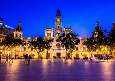 The historical center of the Valencia city, Spain. The historical center of the Valencia city Stock Photography