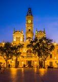 The historical center of the Valencia city, Spain. The historical center of the Valencia city Royalty Free Stock Photo
