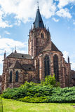 Historical center of the Wissembourg, Alsace, France Stock Photo