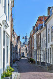 Historical centre of city Middelburg Stock Images